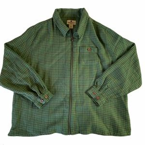 Green Woolrich Jacket   Perfect for Hiking
